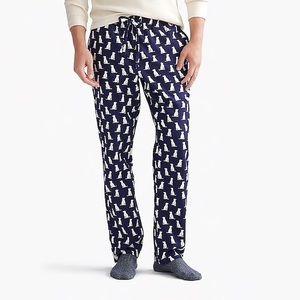 J. Crew Labrador flannel pajama pant